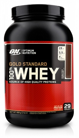 100% Whey Gold Standard 907 г, 2lb